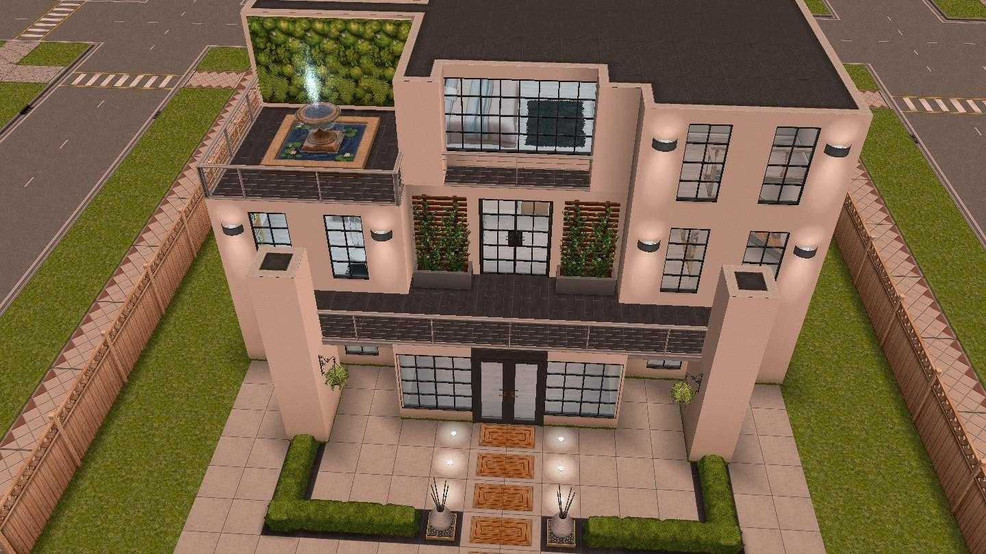 Verdieping Sims Freeplay C M The Sims Freeplay Original Design House Idea Sims