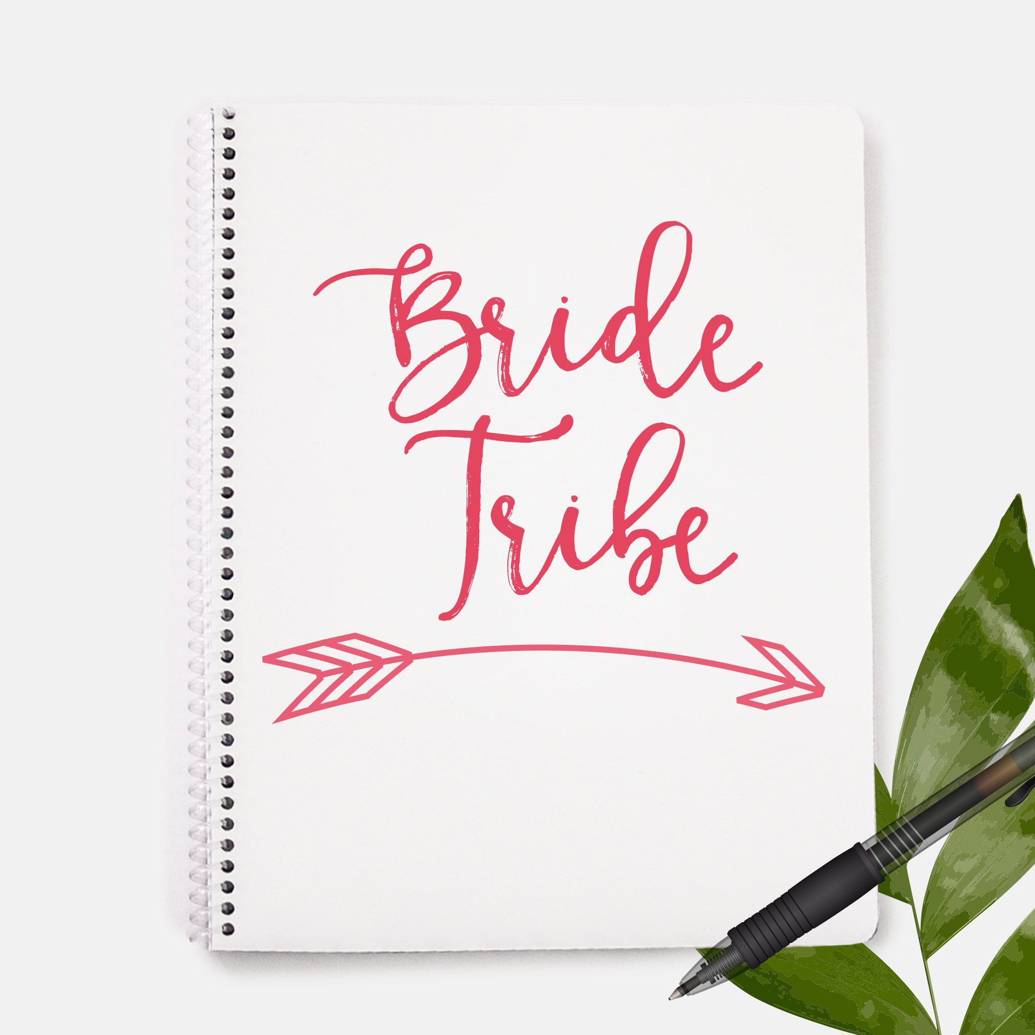 Bride Tribe Notebook | Bridal Party Gift | Wedding Gift ...