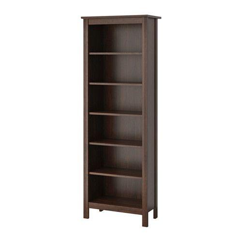 Brusali biblioth que brun r glable tablette et hauteur for Brusali bookcase