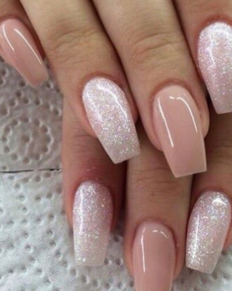 soft pinkish nails