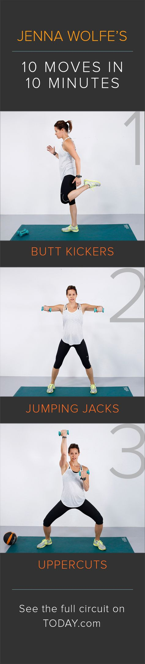 Burn 100 calories in 10 minutes: Do this total body ...