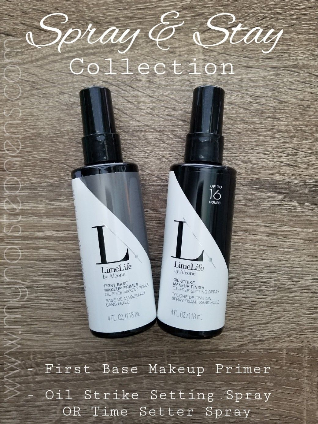 LimeLife by Alcone Spray and Stay Collection. Smooth fine