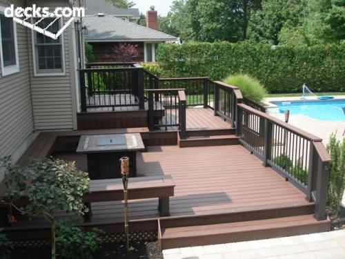 Trex Multi Level Deck Deck Pictures Multi Level Deck Deck