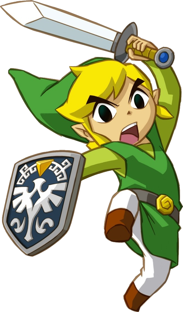 The Legend Of Zelda Wind Waker Link