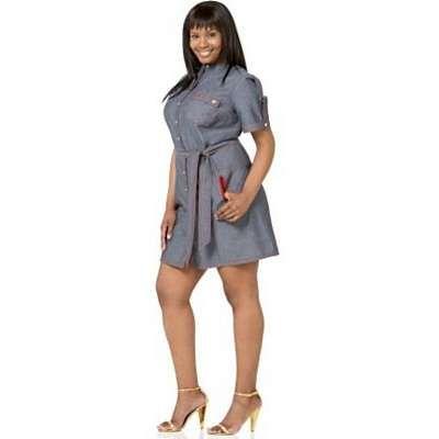 dope denim! 12 of the hottest summer denim dresses | baby phat