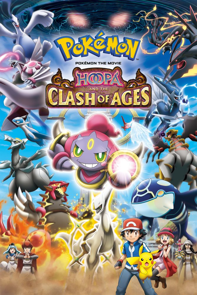 Pokemon The Movie Hoopa And The Clash Of Ages Movie Poster