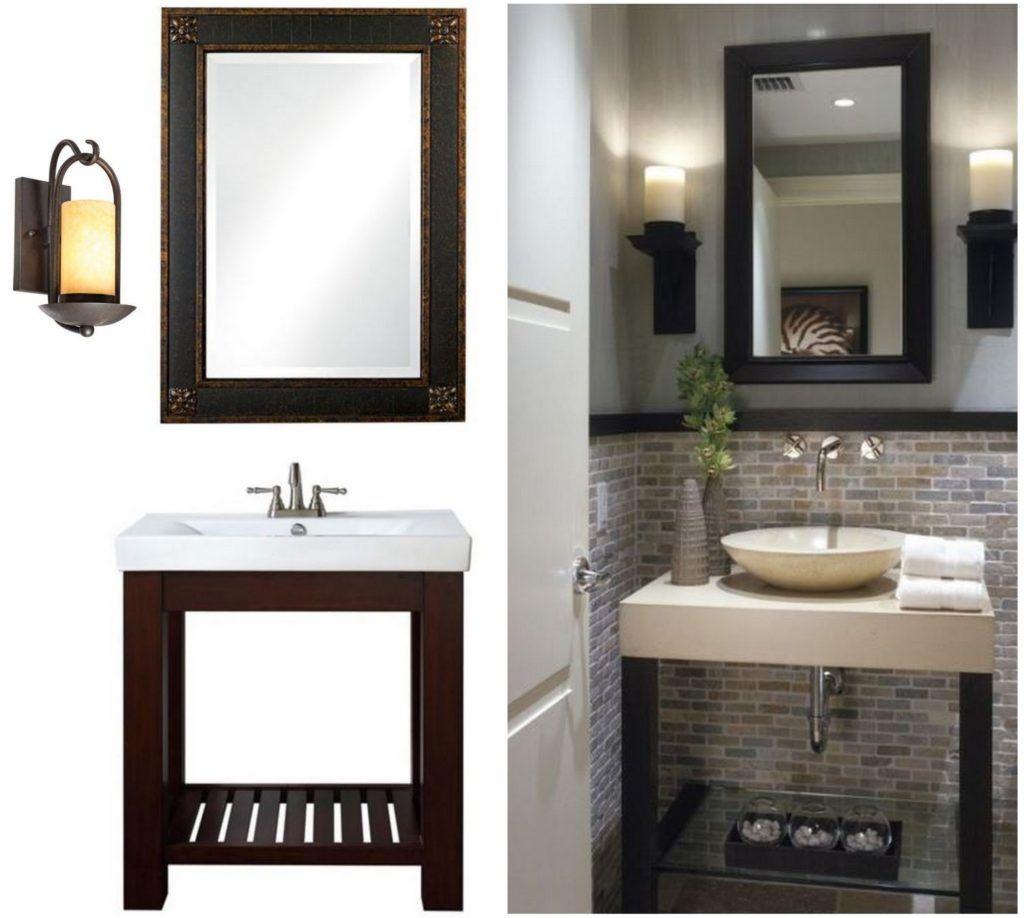 small bathroom vanity decorating ideas | Bathroom Decor ...