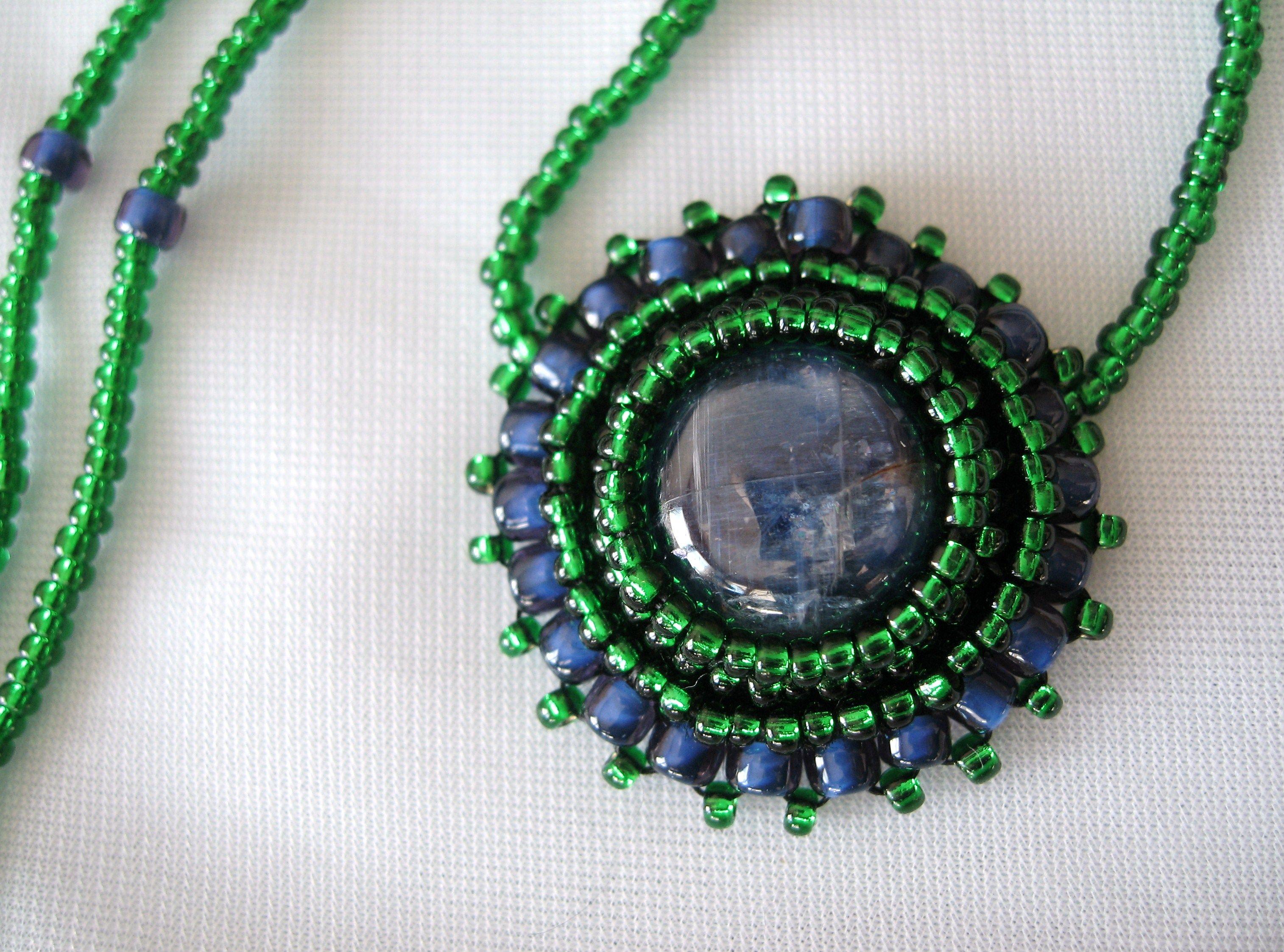 Iolith pendant