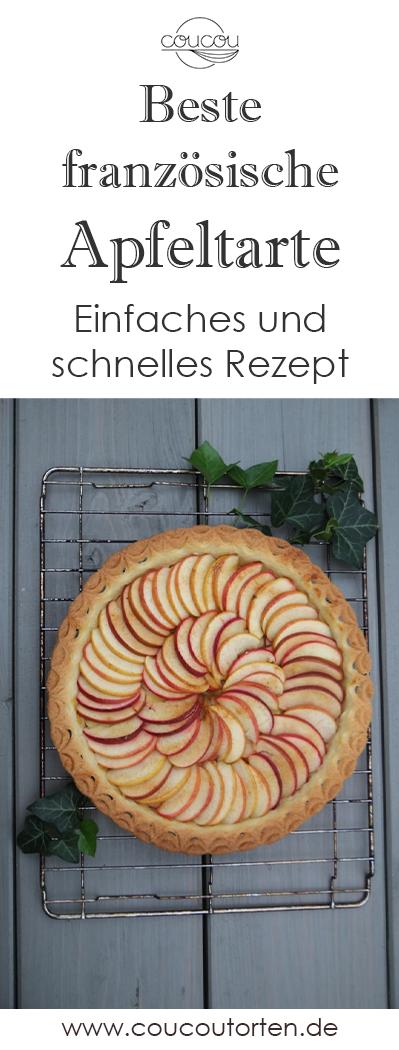 Das beste Rezept für eine original französische Apfeltarte!