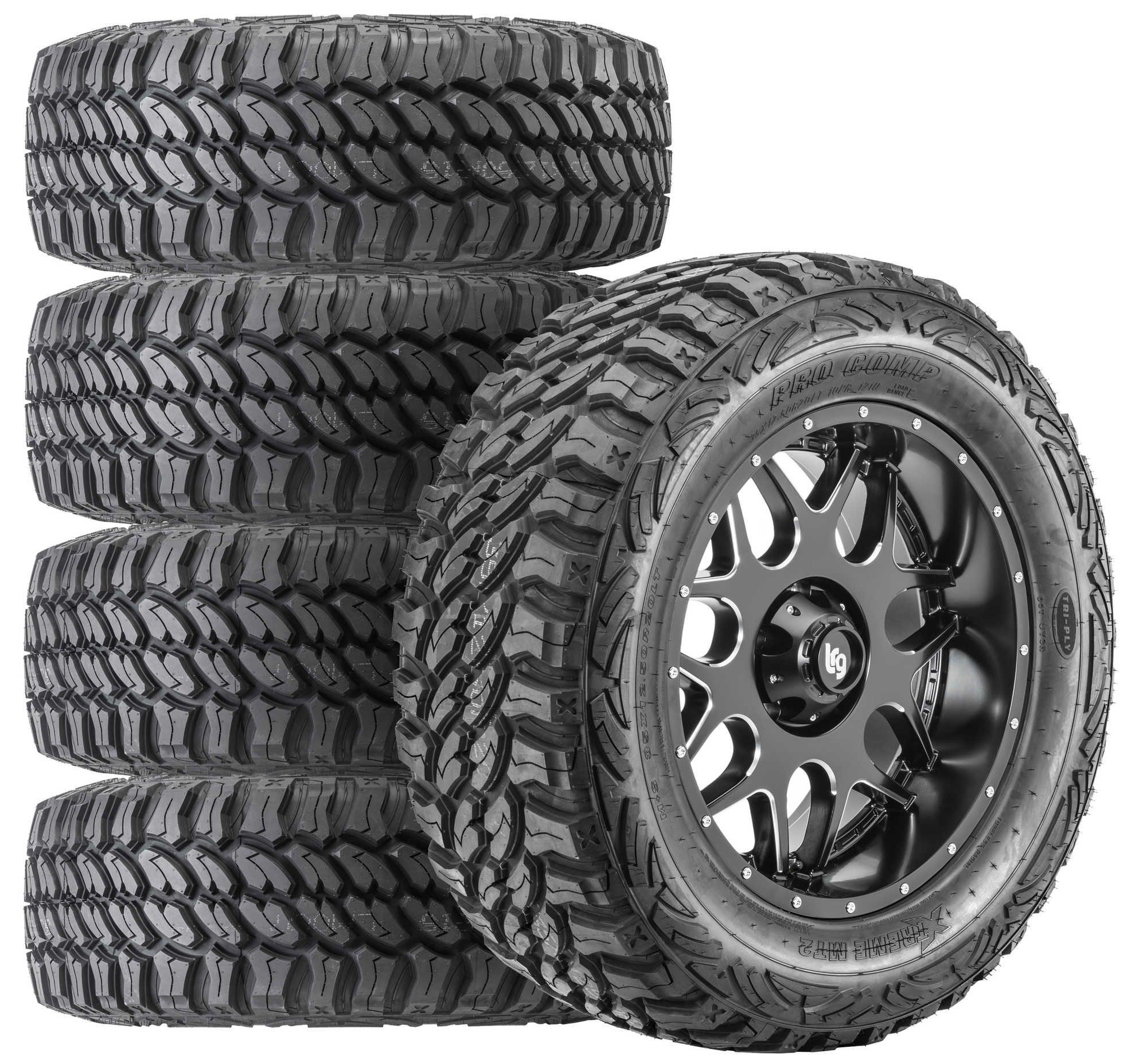 Pro Comp Lighting Xtreme M/T2 Radial Tire on LRG Splits