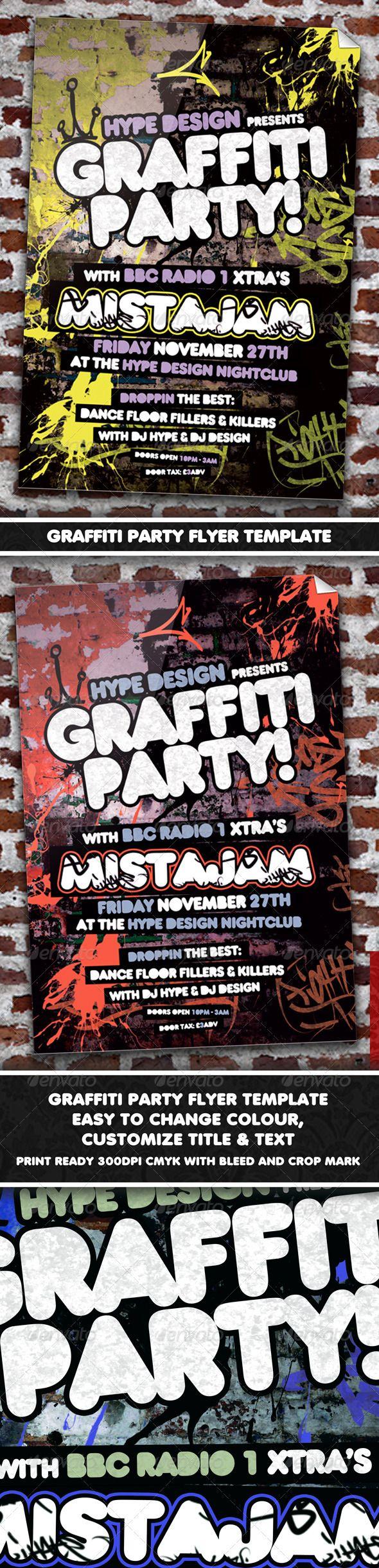 custom party flyers