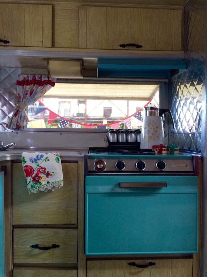 1965 Aristocrat Low Liner With The Retro Blue Appliances Double