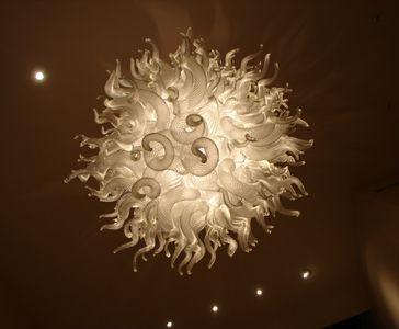 Hand blown glass art chandeliers clear chandelier chihuly glass hand blown glass art chandeliers clear chandelier aloadofball Images