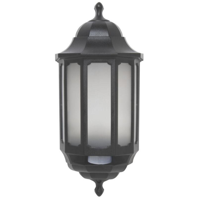 Details About Half Lantern Wall Light Hi Lo Led Pir Motion