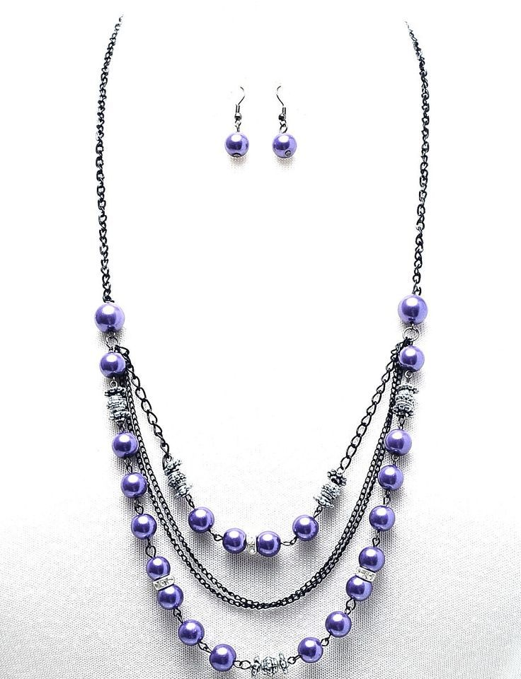 long beaded necklace - - Yahoo Image Search Results | Necklaces ...
