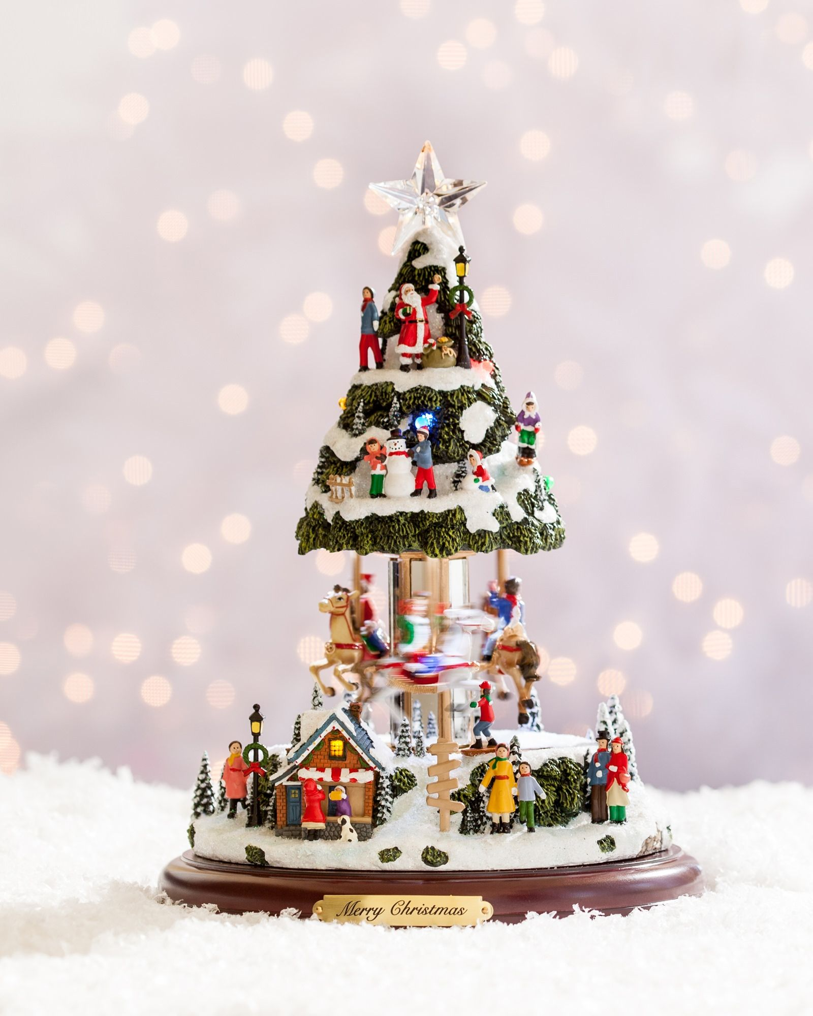 Our Animated Musical Tree is a miniature Christmas village ...