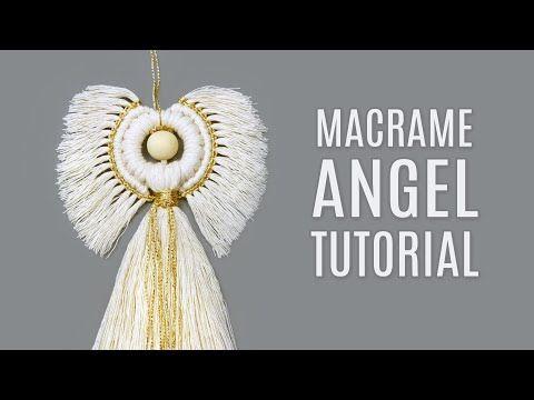 MACRAMÉ ANGEL TUTORIAL