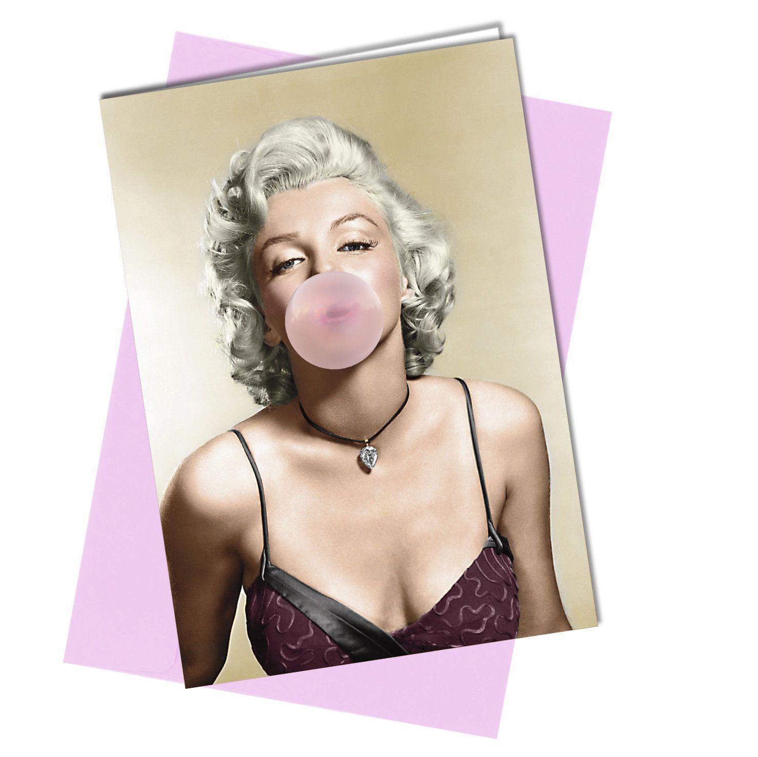 Bubblegum - #576 Marilyn Monroe Greeting Card