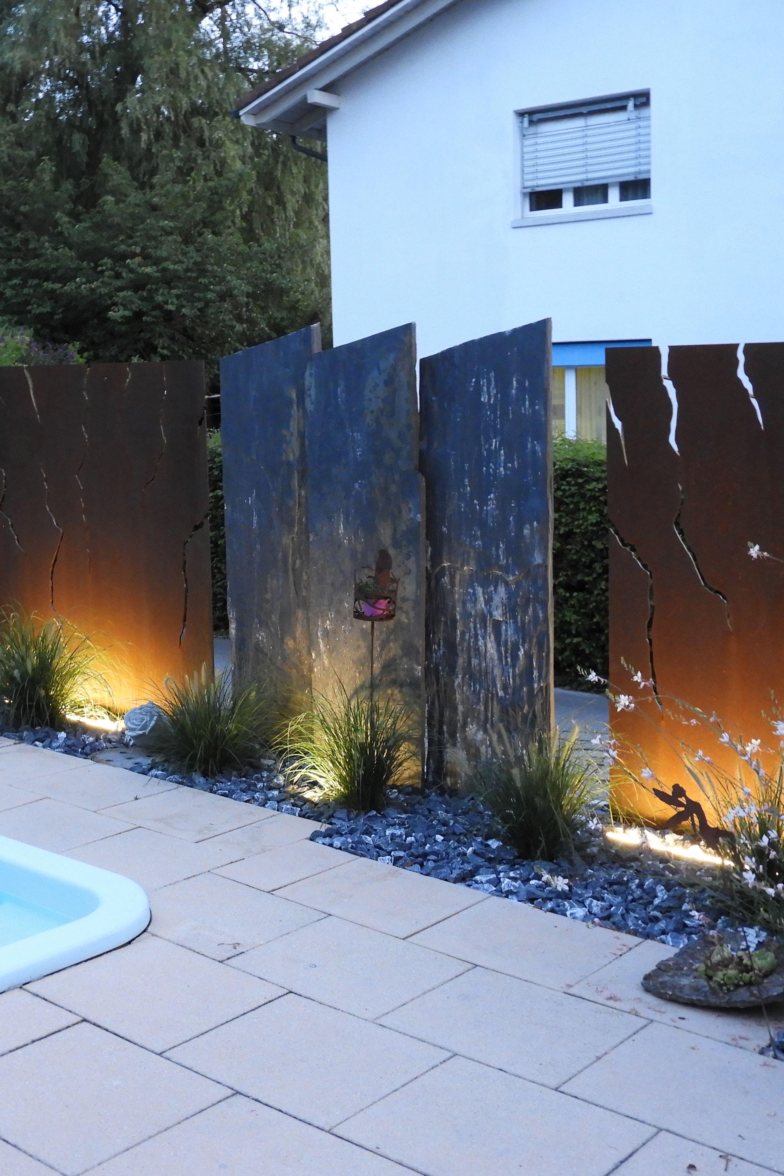 Pin Von Susana Juilfs Auf Muro Sichtschutzwände Sichtschutzwand Garten Sichtschutz Garten Sichtschutzwände