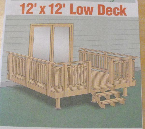 12 X 12 Deck Plans Bing Images Deck Design Deck Plans Deck