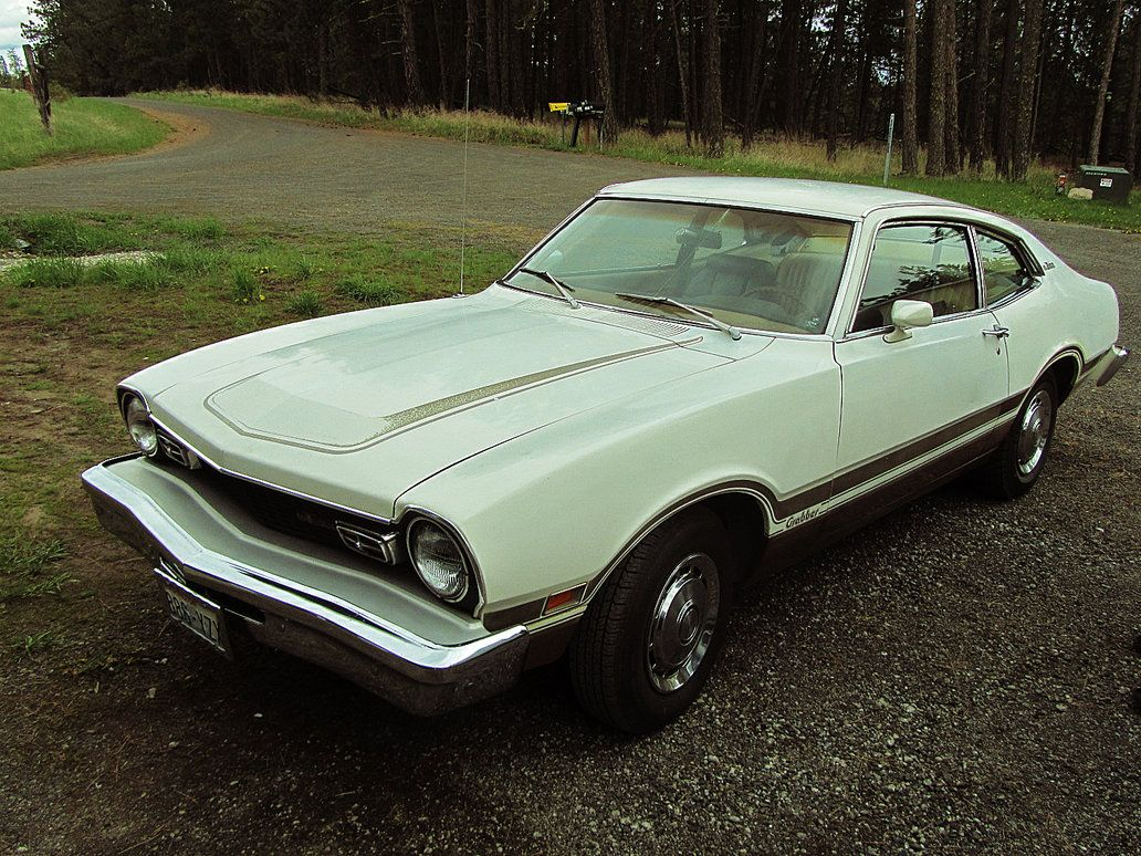 1974 Ford Maverick Grabber I Had A Gold White One With A