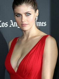 Alexandria Daddario in Red – How hot she is