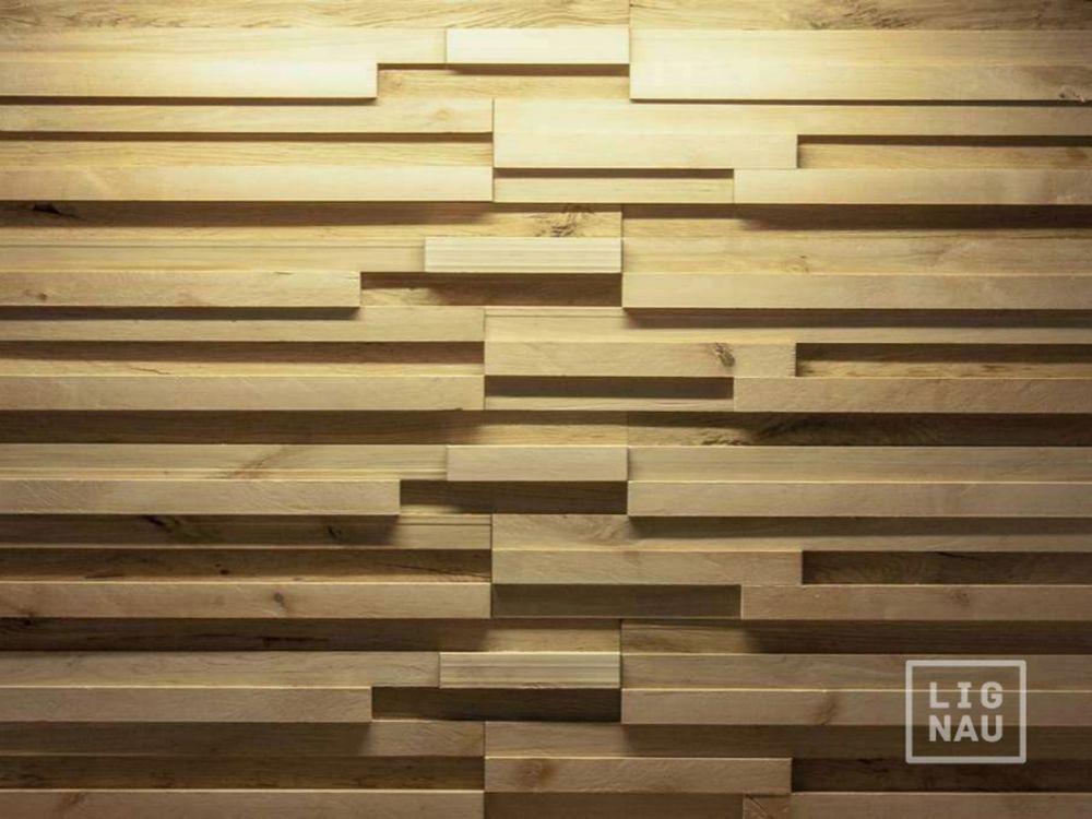 Wall Cladding Wood Paneling 3D Vintage Planed Oak Birch Alder Panel ...