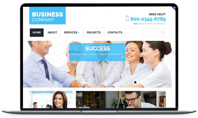 Clean bootstrap business responsive template free bootstrap free bootstrap templates for responsive website like corporate startup app landing magazine and more 2016 accmission Gallery