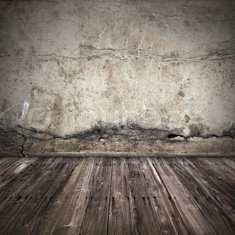 Old Cement Wall Stock Image Of Old Dark Grunge Interior Background With Concrete Wall Cracked Wall Concrete Wall Flooring