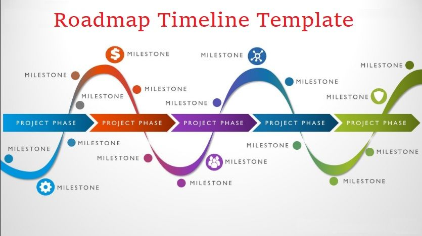 4 roadmap timeline templates free printable pdf excel word pinterest. Black Bedroom Furniture Sets. Home Design Ideas