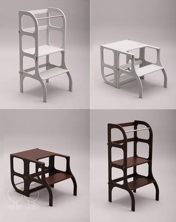 Helper tower / table / chair all-in-one \
