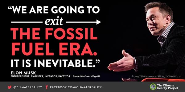 Climate Reality Climatereality Climate Reality Reality Elon Musk
