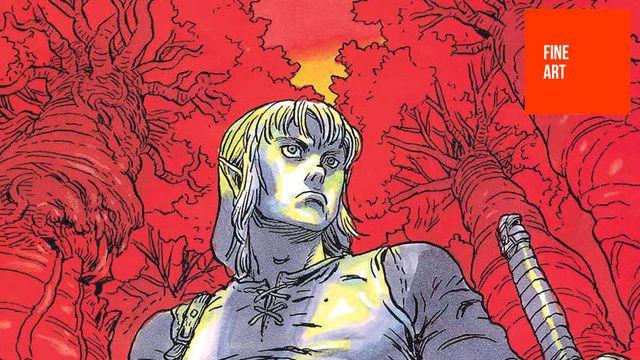 Fina Zelda illustrationer från Wayne back.