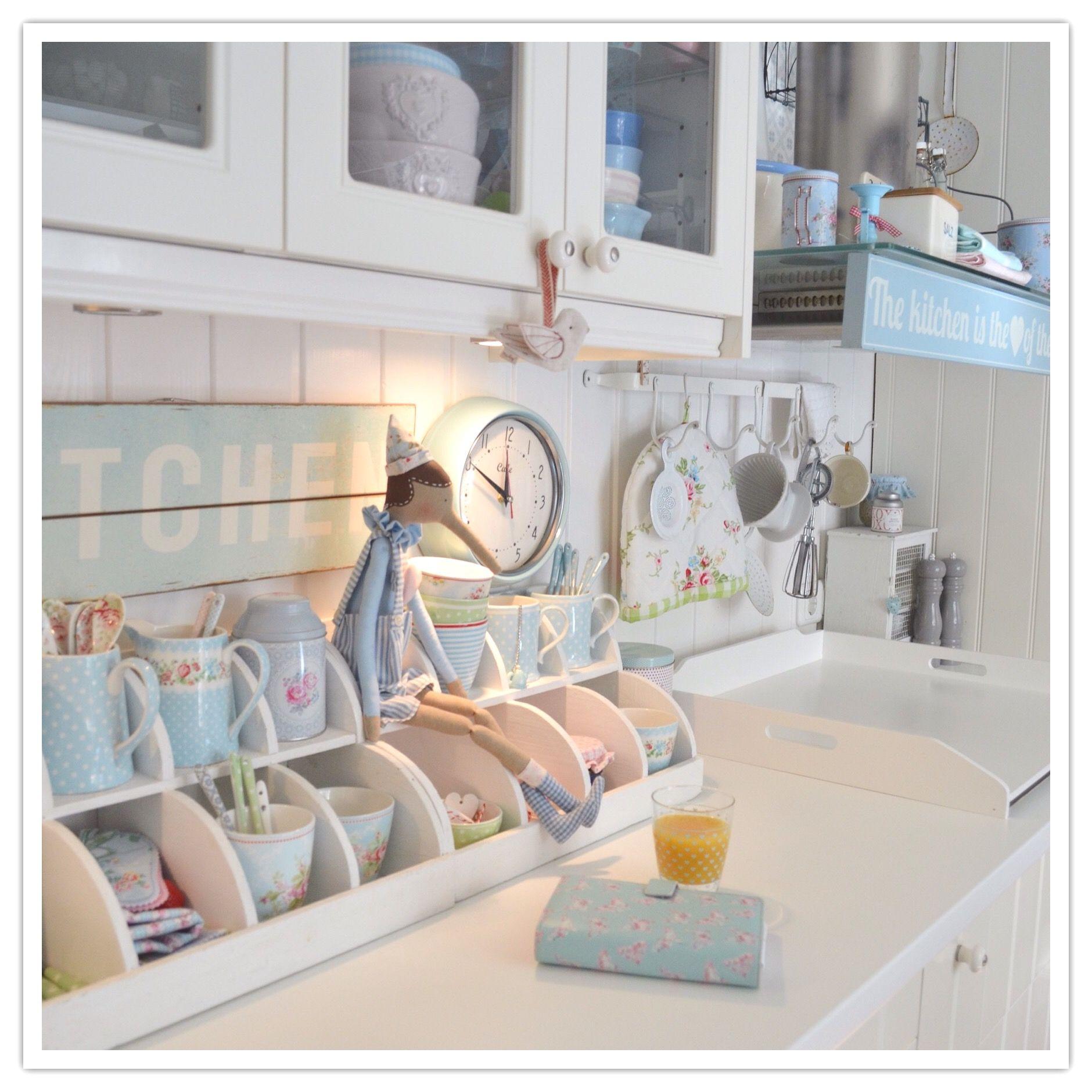 _lelofee_ von Instagram....meine Küche GreenGate   greengate ...