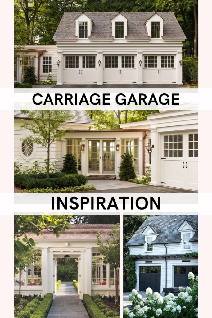 NEW HOUSE Carriage Garage & Breezeway Inspiration