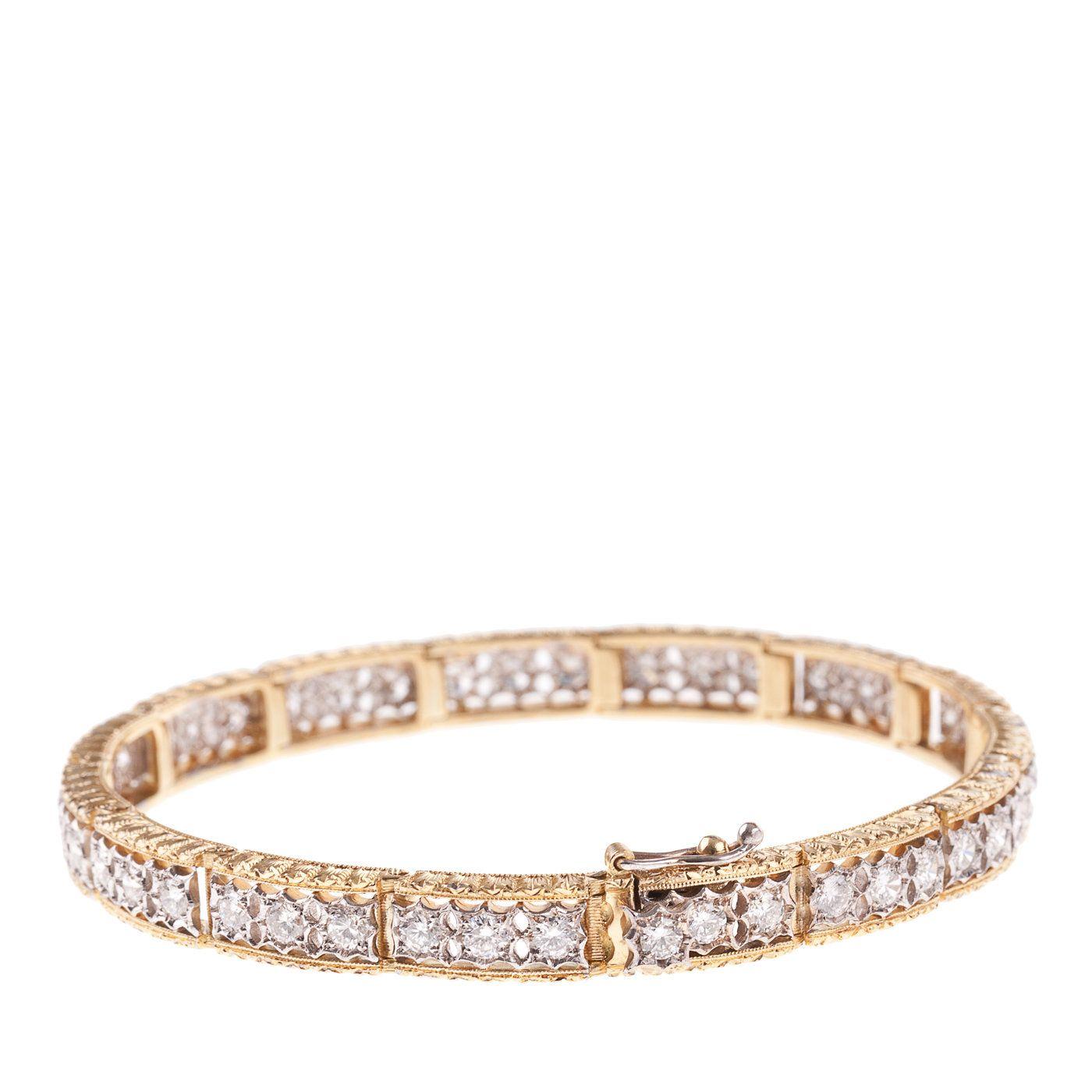 Luce Firenze Diamonds Bracelet Italian renaissance Renaissance