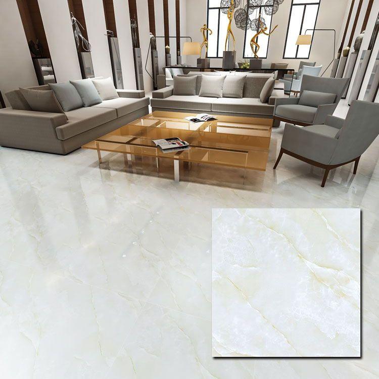 White 600 X 600mm Polished Porcelain Floor Tile In 2020 Tile