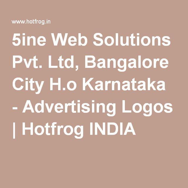 5ine Web Solutions Pvt Ltd Bangalore City H O Karnataka Advertising Logos Bangalore City Advertising Logo Solutions
