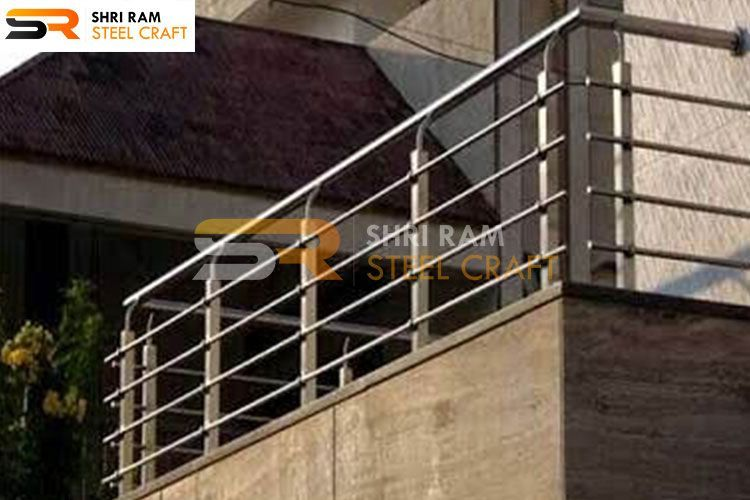 36+ Fancy steel railing design ideas