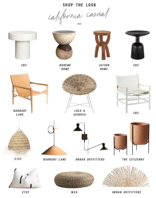 Design Mood: California Casual   Minimalist furniture ideas ...