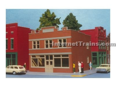 Smalltown USA HO Scale Hardware Store Kit
