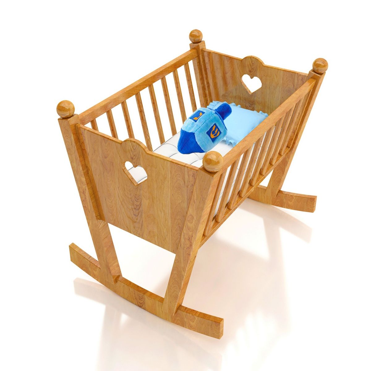 Original Wooden Baby Cribs Wooden baby crib, Wooden
