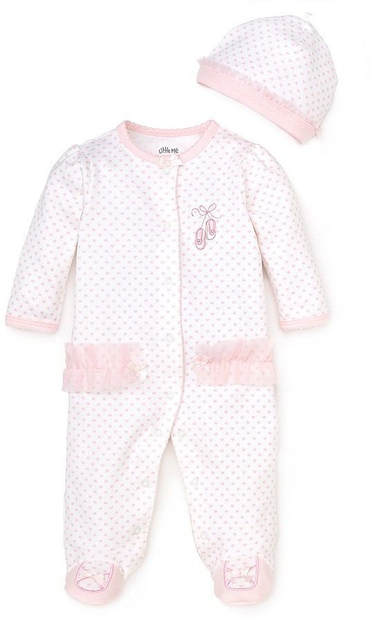 8e04e9af2 Little Me Girls' Prima Ballerina Footie - Baby | Matthyew&Rileigh ...