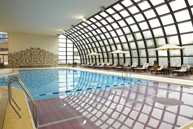 Indoor Swimming Pool Gym the heated indoor swimming pool at club med hokkaido features vast