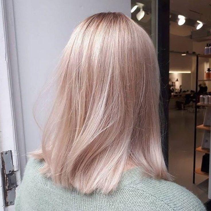 42 Trendy Rose Gold Blonde Hair Color Ideas  rose gold hair highlights rose go