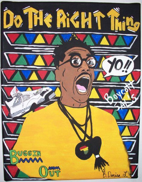 quality design c3ad1 c43c8 Buggin Out!   Do The Right Thing in 2019   Art, Black girl art ...
