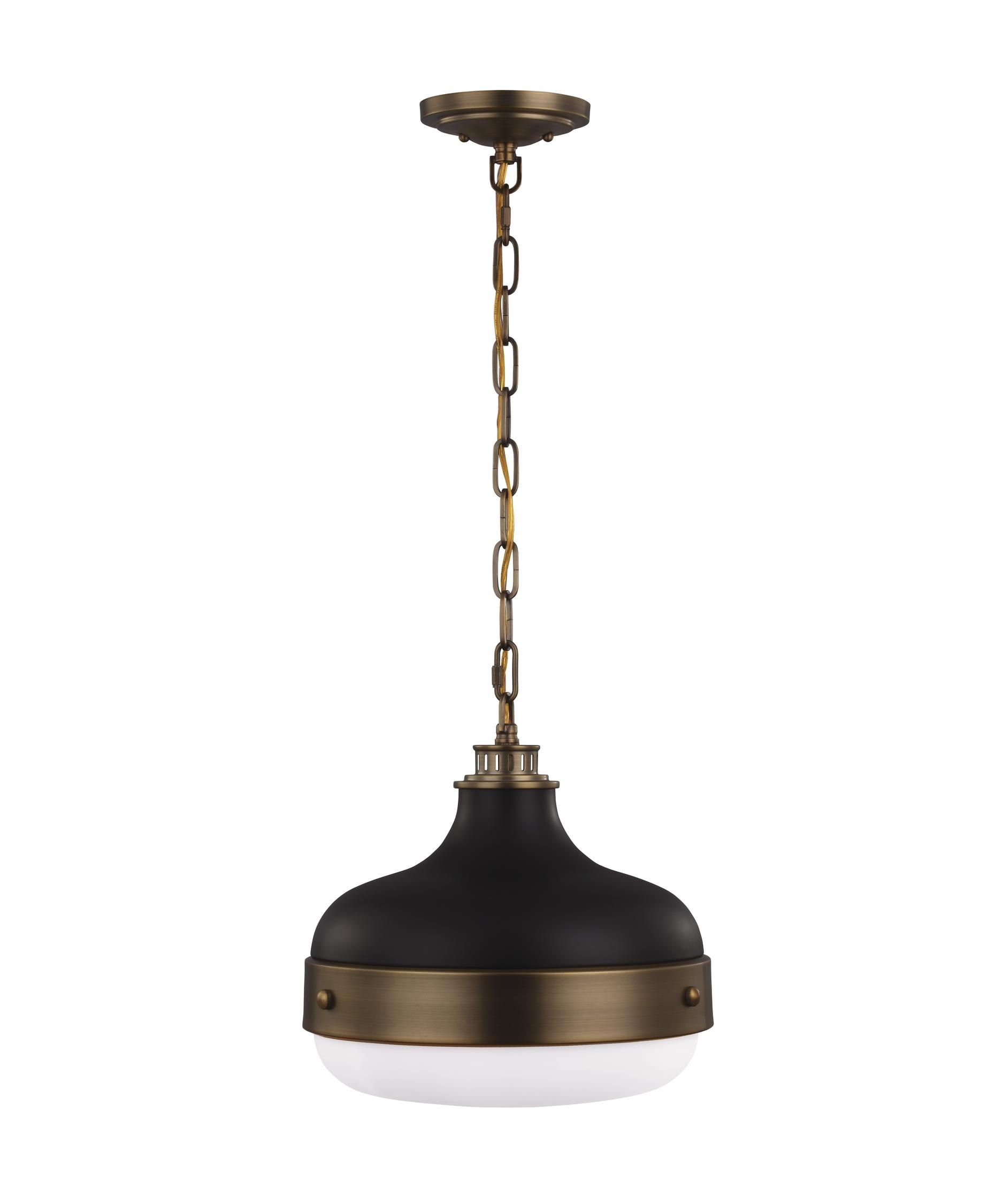 Feiss Cadence 13 Inch Large Pendant By Generation Lighting