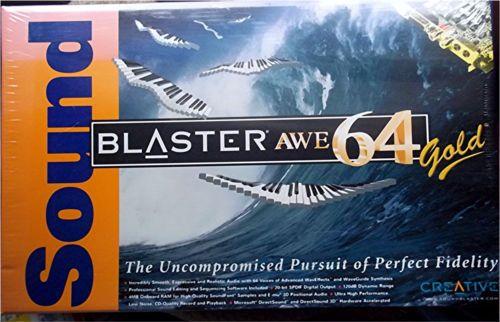 Creative Sound Blaster AWE64 Gold SB4390 New in SEALED Box