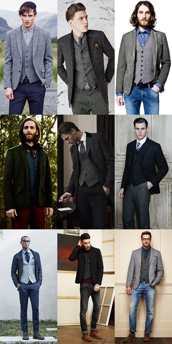 Men's AutumnWinter Essential Fabrics: Tweed