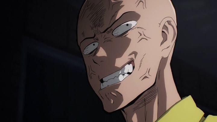 Crazy Face Saitama One Punch Man Animasi 3d Animasi